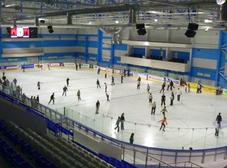 Ледовый дворец в Задонске